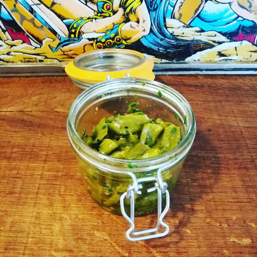 Poivrons marinés - tapas - légumes - BouffePorn