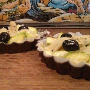 Tarte courgettes - mini (1)