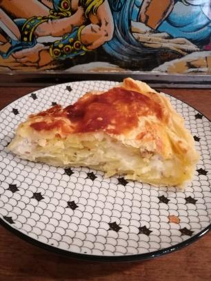 Tourte à la pomme de terre - Bouffeporn, recette, Berry, berrichon, Loire