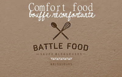 Logo Battle Food - Comfort Food