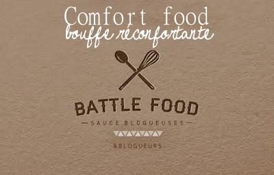 Logo Battle Food - Comfort Food