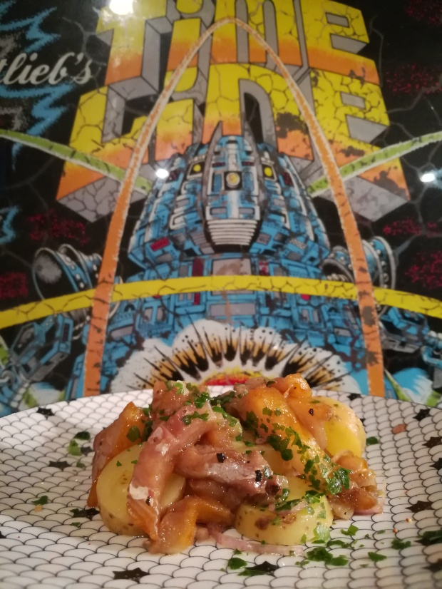Salade de pommes de terre et haddock