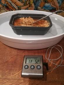 Montage du bain-marie pour la cuisson du foie gras mi-cuit au piment d'Espelette - BouffePorn