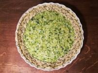 Recette pas à pas de la tarte au poireaux - BouffePorn - Compatible régime sans sel