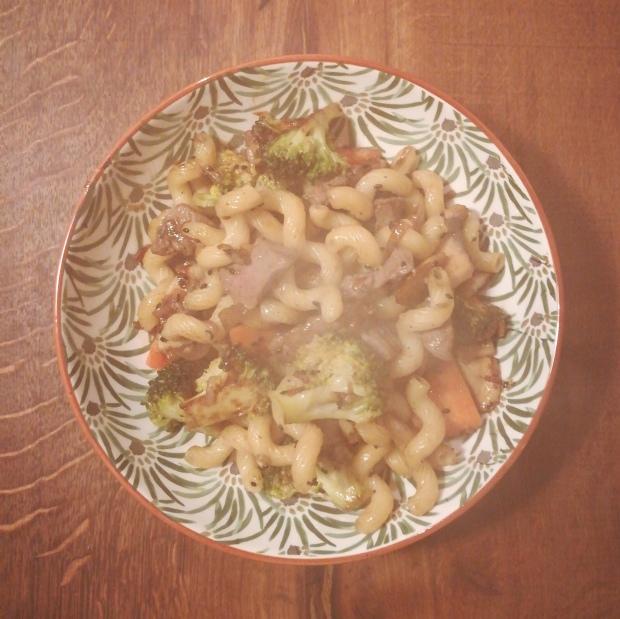 Recette de wok de boeuf mariné - BouffePorn - régime sans sel